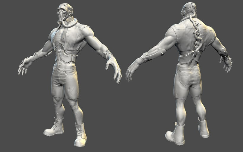 Zombo Schrute - Game character 1
