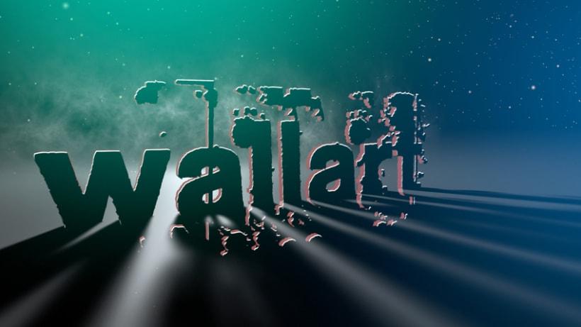 Wallart. Micro spot 3D After Effects + Final cut 2