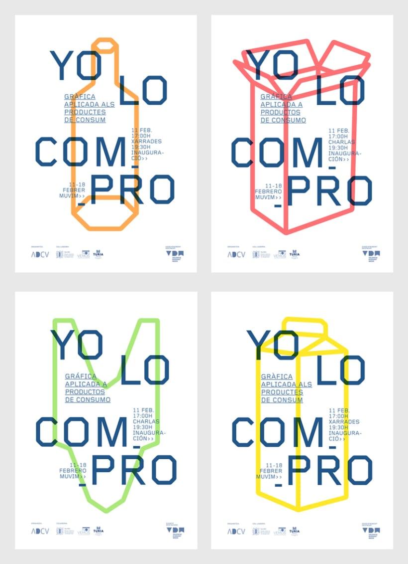 Gráfica exposición YO LO COMPRO 1