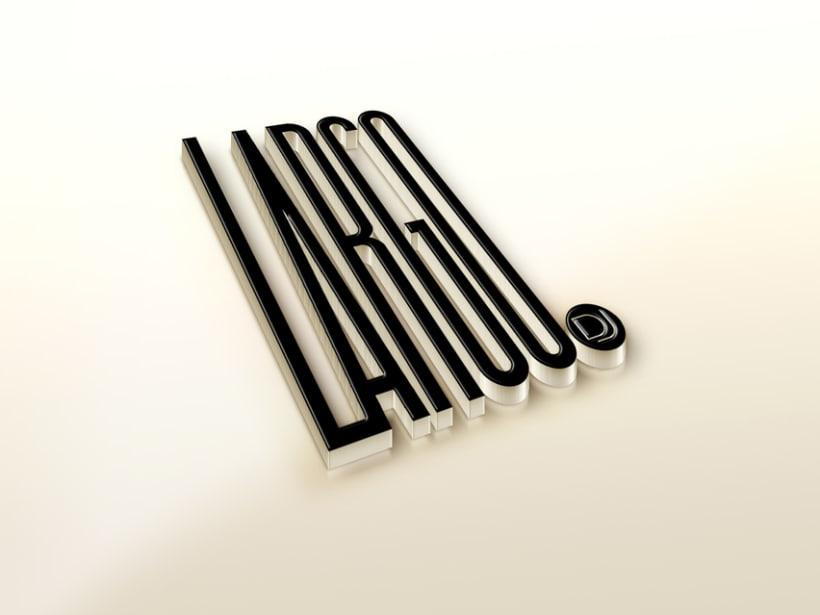 Branding, book y página de fans en Facebook para Largo dj 1