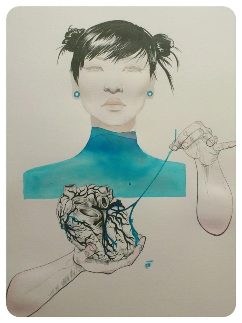 Corazón Azul 0