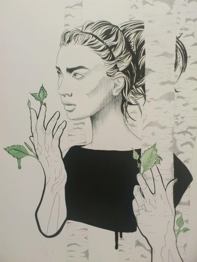 Abedul, la mujer arbol. -1