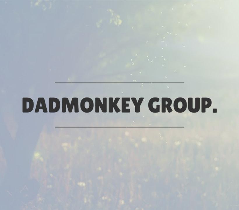Branding for DADMONKEY GROUP. 2