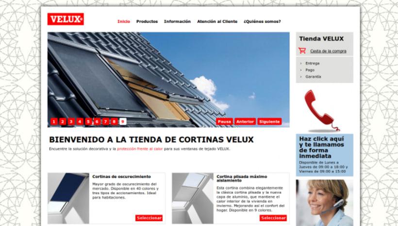 Velux: creación de sistema de presupuestos online 0
