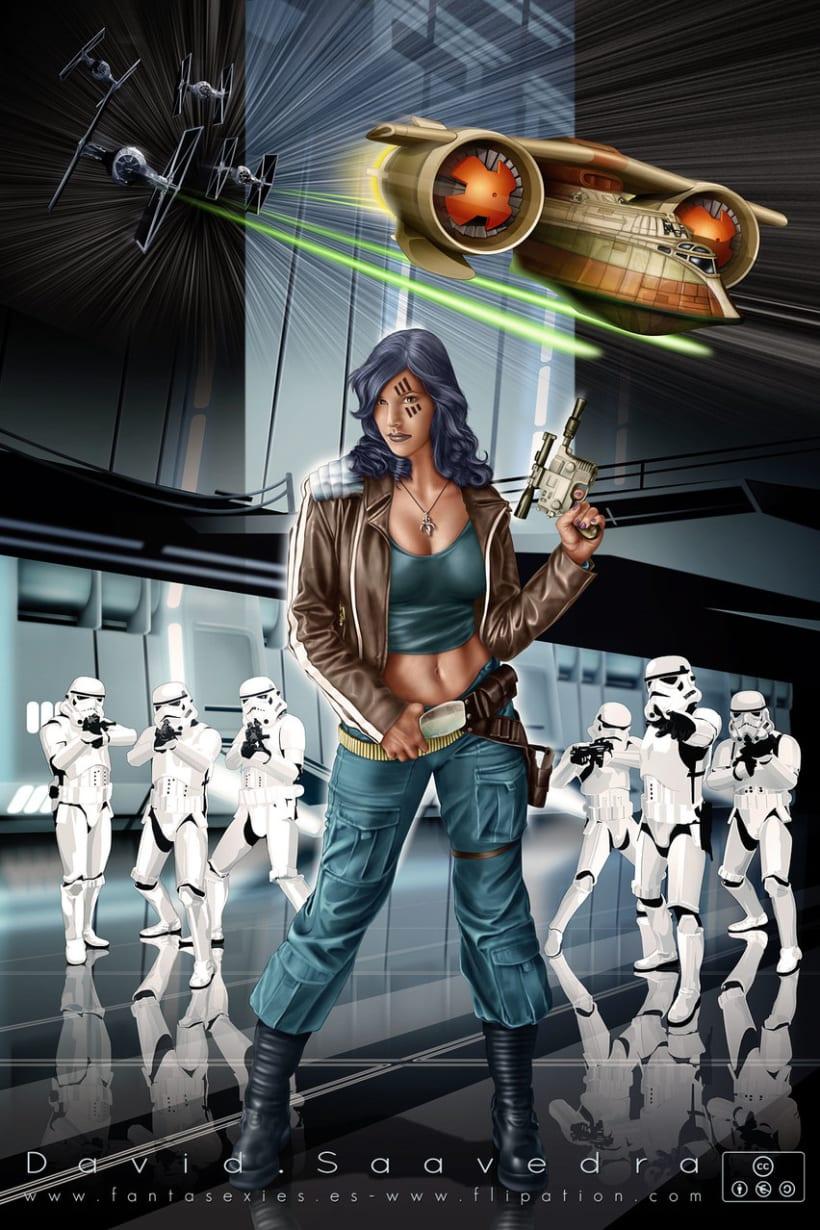 Fantasy & sci-fi pinup's 1