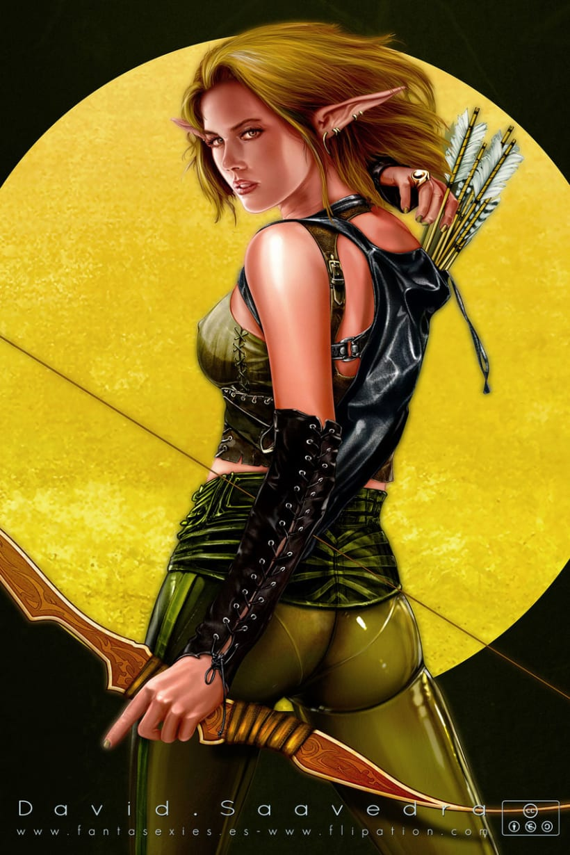 Fantasy & sci-fi pinup's 5