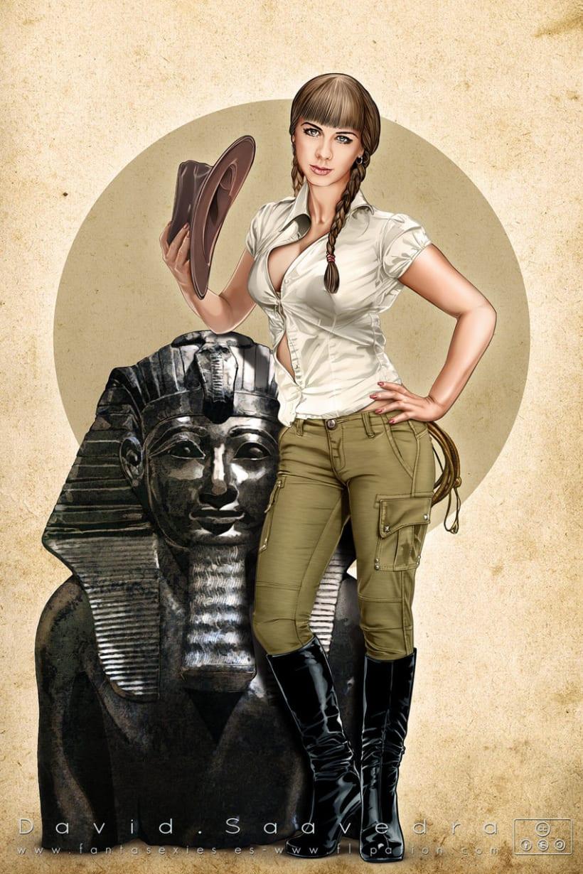 Fantasy & sci-fi pinup's 6