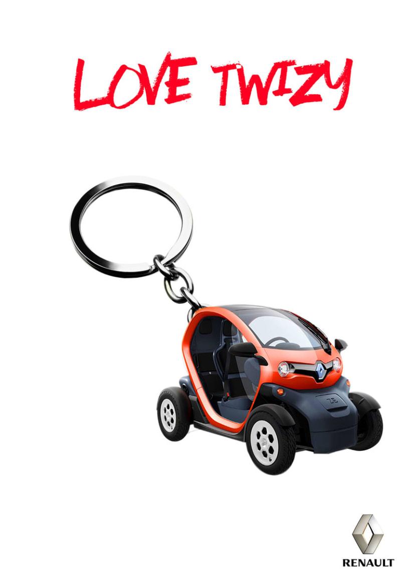 Gráficas para promocionar el Renault Twizy. -1