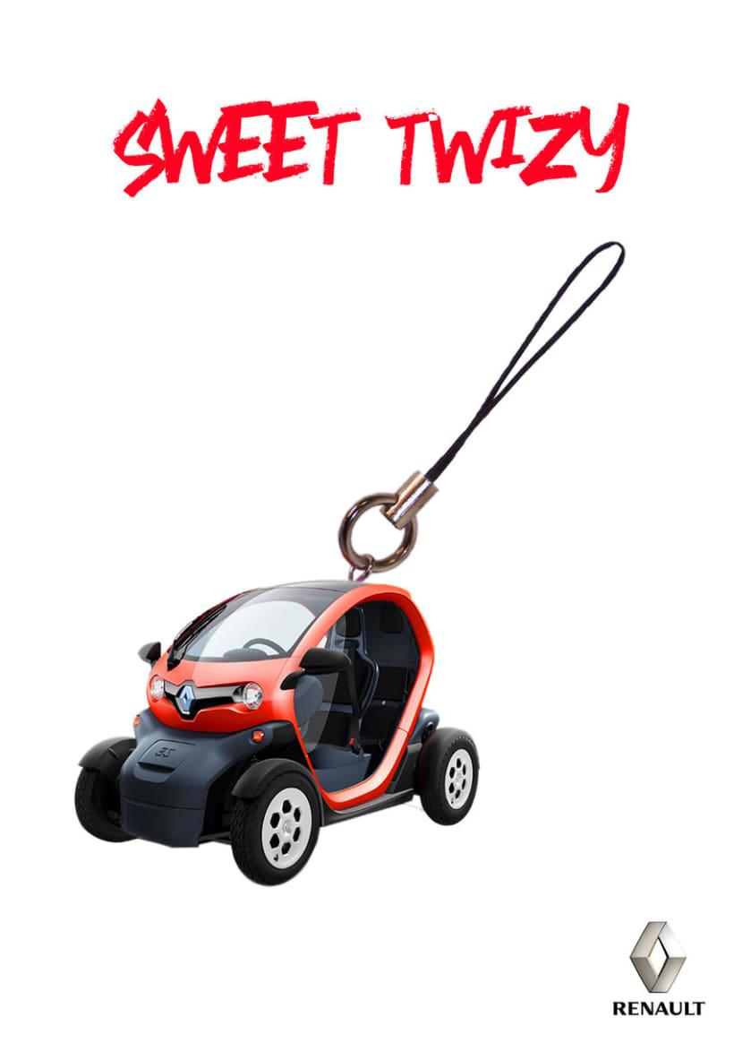 Gráficas para promocionar el Renault Twizy. 0