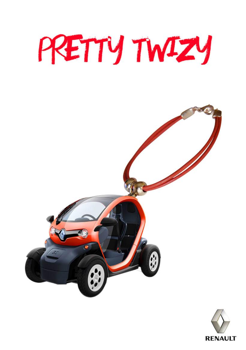 Gráficas para promocionar el Renault Twizy. 1