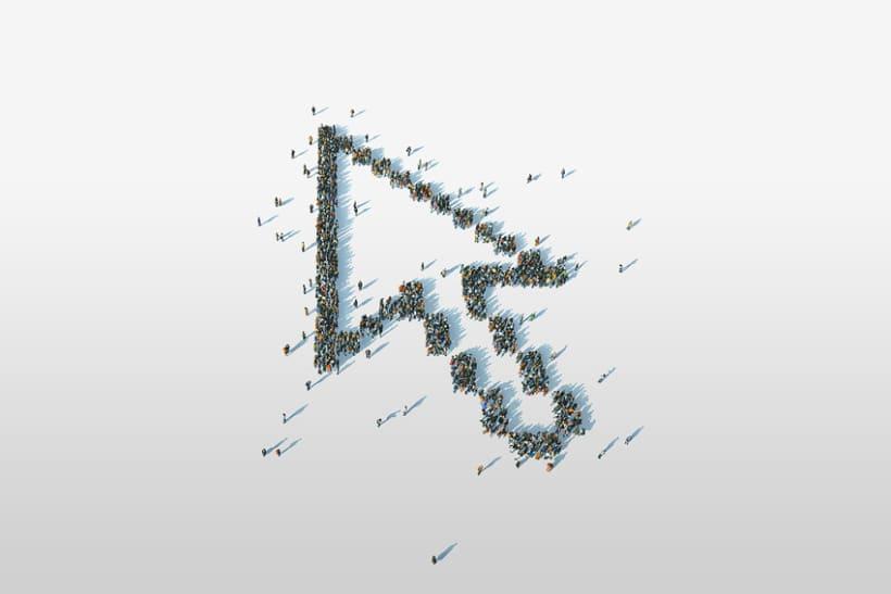 3d Personas creando cursor 0