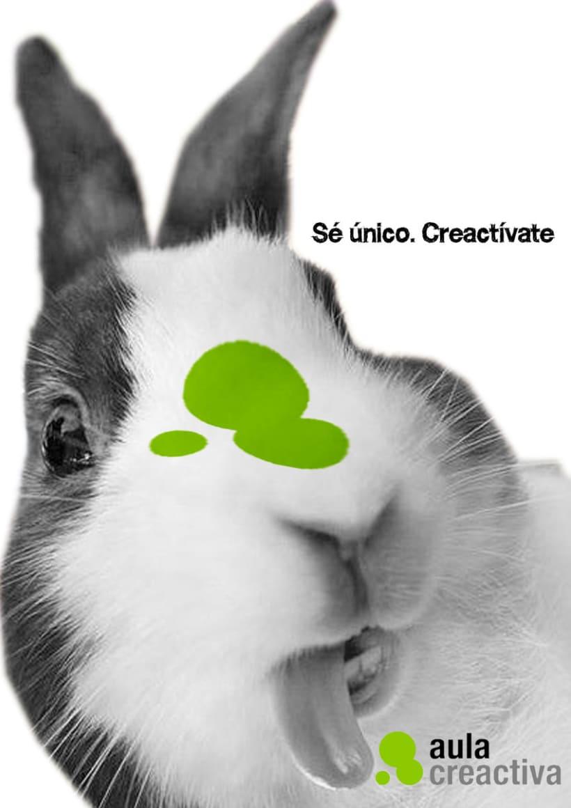 Diseño de gráficas para la academia Aula Creactiva. 0