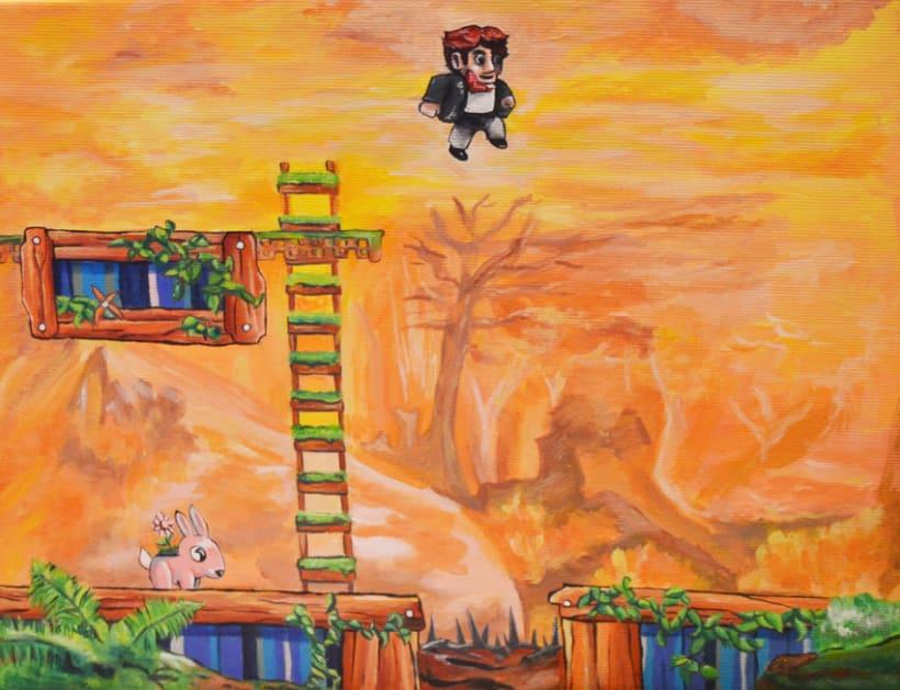 De la pantalla al lienzo: una mirada pictórica a los videojuegos 5