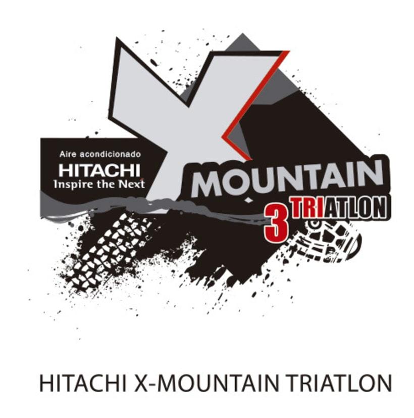 Logo Hitachi X-MOUNTAIN DUATLON-TRIATLON 0