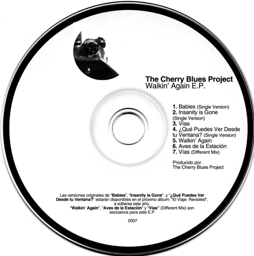 El Viaje, Discos, Ep, simples, Remix (2007) 7