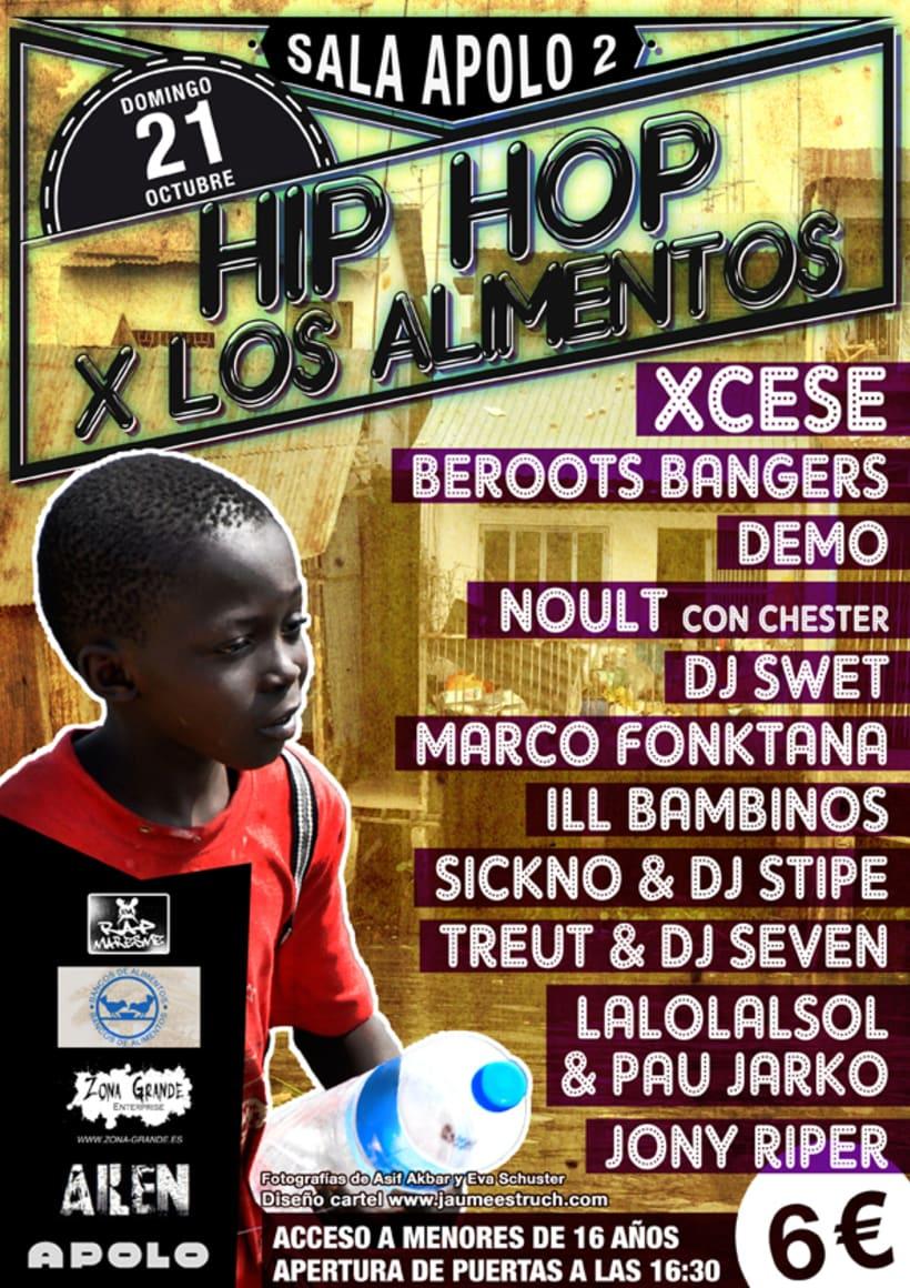 hip hop x los alimentos -1