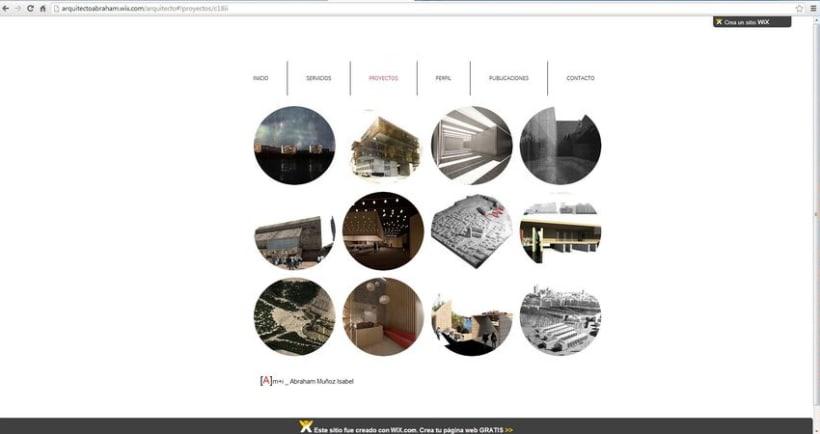 Diseño de la  web del estudio .  1