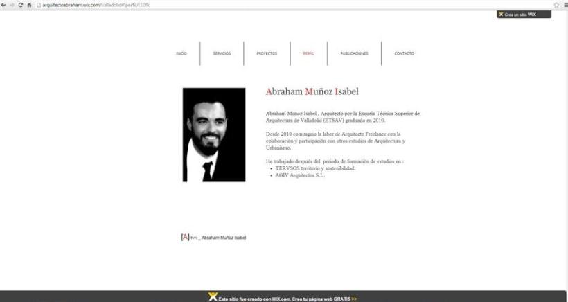 Diseño de la  web del estudio .  3