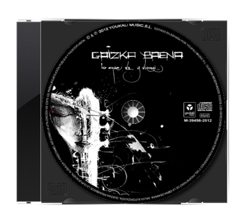 """""""LO QUE VA Y VIENE"""" disco de Gaizka Baena 10"""
