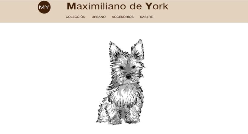 Tienda online de venta de ropa para perros. Maximiliano de York 2