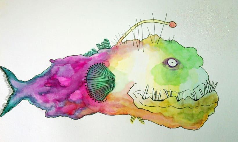 Aquarela i tinta negre 6