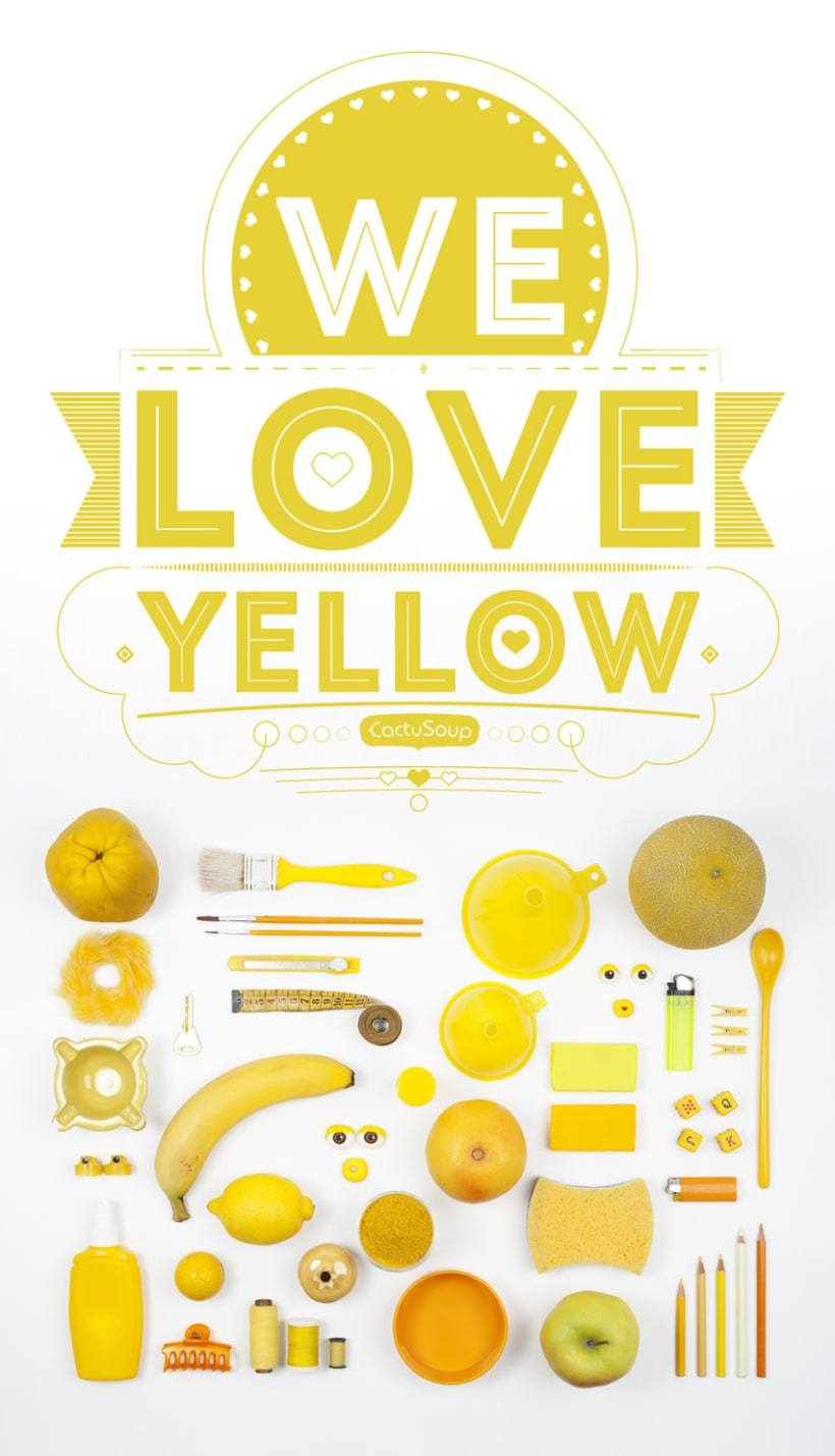 Yellow lovers / Type - Photo - Poster 3