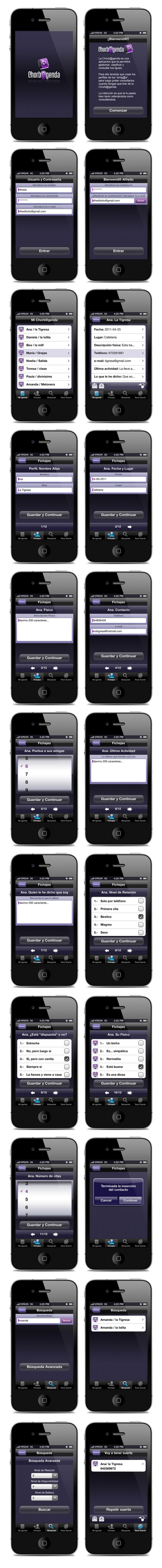 APP Chorb@genda. Proyecto para Genexies Mobile 6
