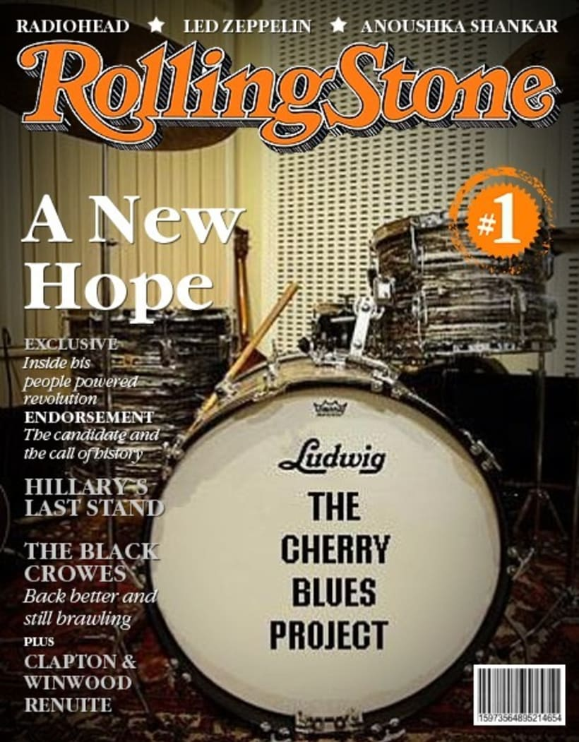 The Cherry Blues Project - En Portadas de Revistas. 3