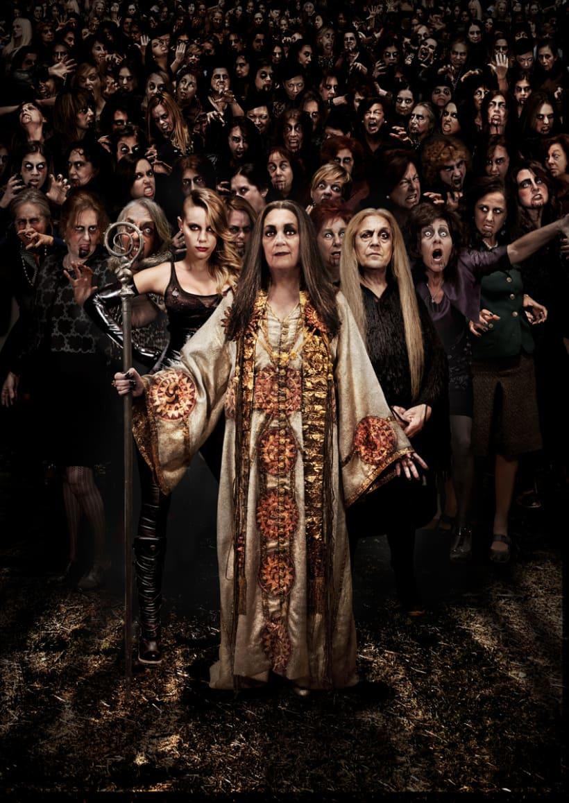 Cartel Teaser de la pelicula: Las brujas de Zugarramurdi de Alex de la Iglesia -1
