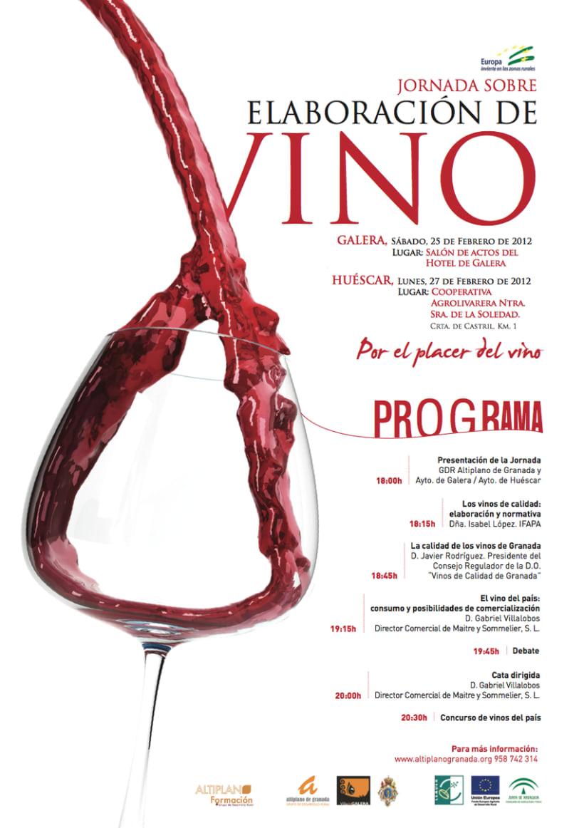 Jornadas sobre Elaboración de Vino (Altiplano de Granada) 0