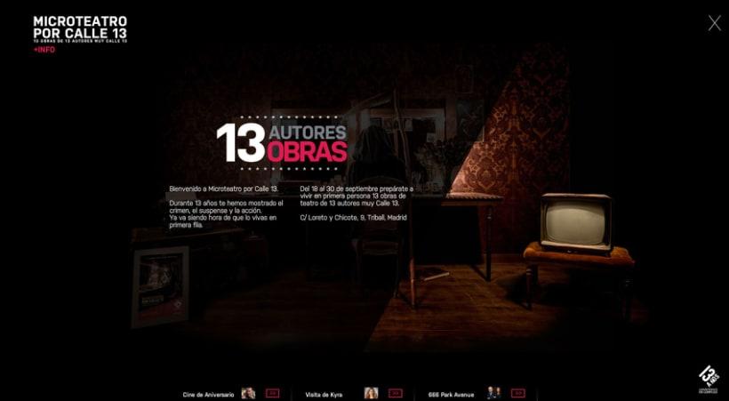Microteatro - Calle 13 1