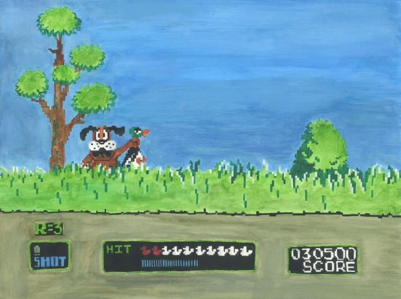 De la pantalla al lienzo: una mirada pictórica a los videojuegos 13