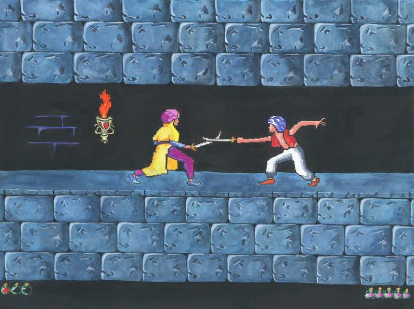 De la pantalla al lienzo: una mirada pictórica a los videojuegos 11