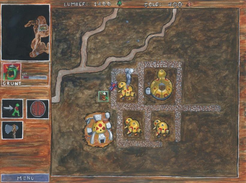 De la pantalla al lienzo: una mirada pictórica a los videojuegos 12
