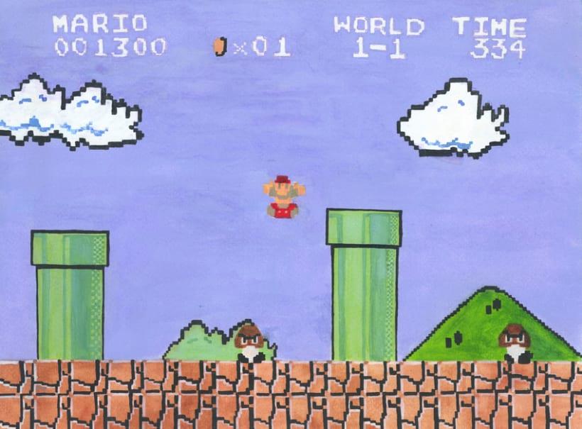 De la pantalla al lienzo: una mirada pictórica a los videojuegos 9