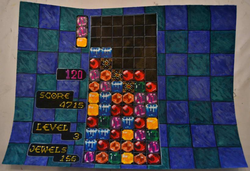 De la pantalla al lienzo: una mirada pictórica a los videojuegos 15