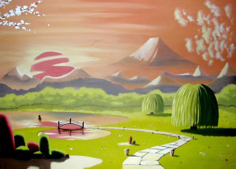 Jard n japon s domestika for Jardin japones cursos