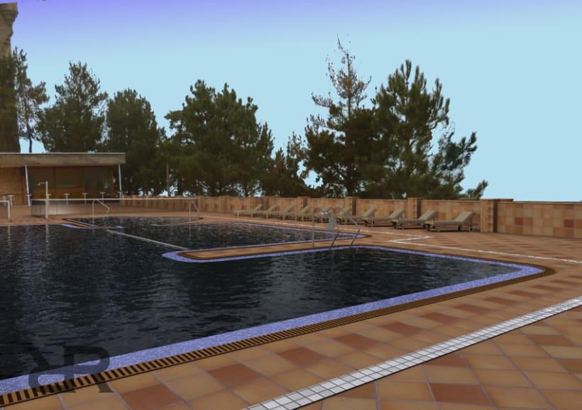 Piscina Hotel Monte Igueldo 0