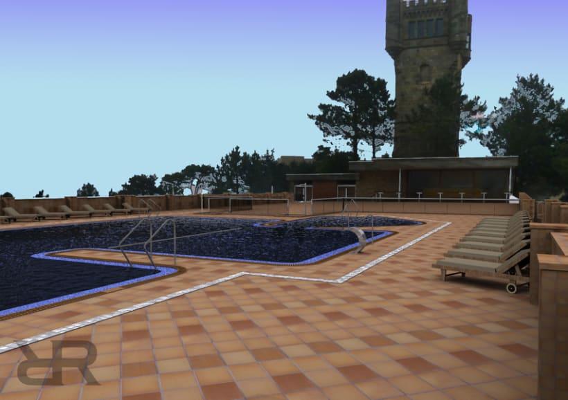 Piscina Hotel Monte Igueldo 1