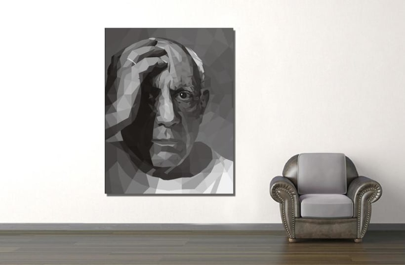 Geometric Picasso, la mirada de un genio, 1954. 12