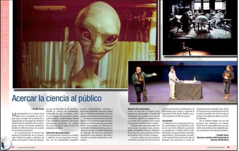 Revista para la Universidad Carlos III 1