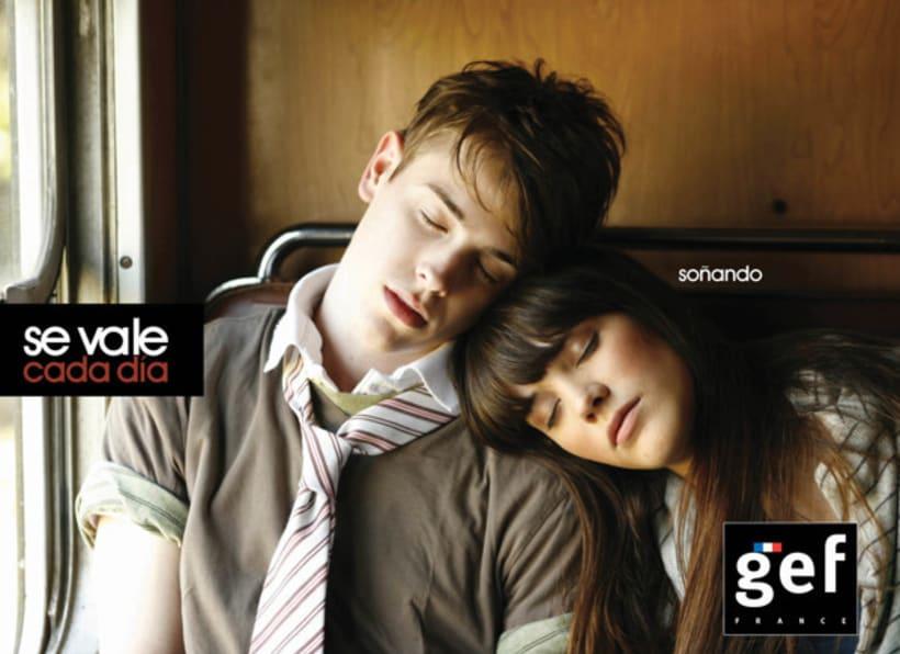 """Campaña """"Se vale cada día gef""""  (Ganadora mejor campaña publicitaria de moda premios infashion 2010) 2"""