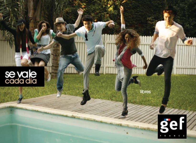 """Campaña """"Se vale cada día gef""""  (Ganadora mejor campaña publicitaria de moda premios infashion 2010) 4"""