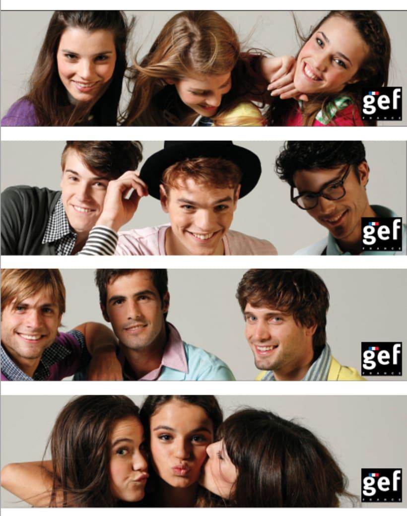 """Campaña """"Se vale cada día gef""""  (Ganadora mejor campaña publicitaria de moda premios infashion 2010) 7"""