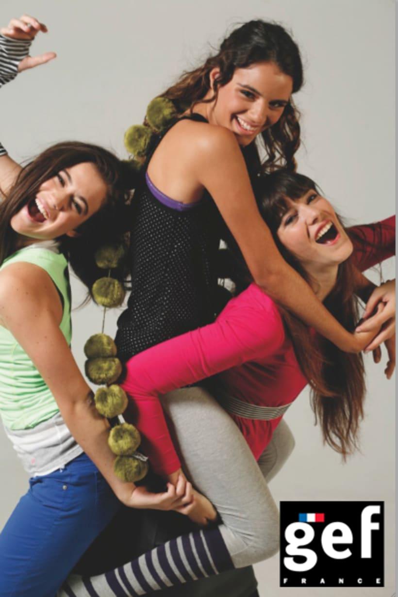 """Campaña """"Se vale cada día gef""""  (Ganadora mejor campaña publicitaria de moda premios infashion 2010) 8"""