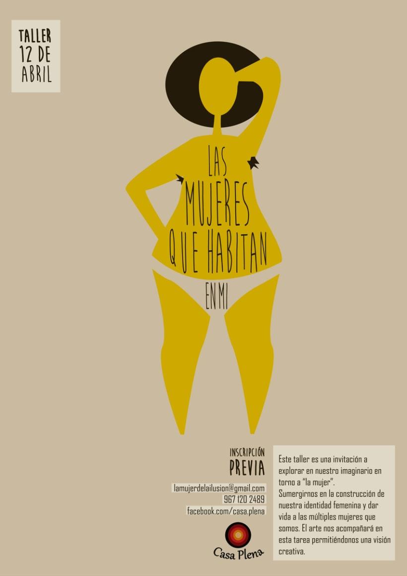 Ilustración y diseño: Las mujeres que habitan en mí -1