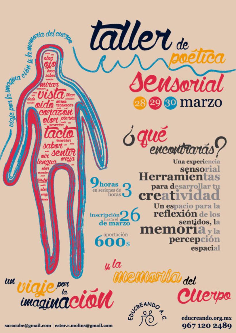 Ilustración y diseño: Poética Sensorial 0