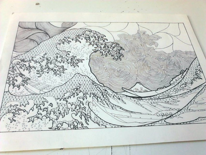 La gran ola. 1