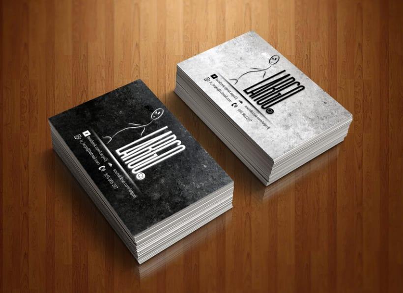 Branding, book y página de fans en Facebook para Largo dj 4
