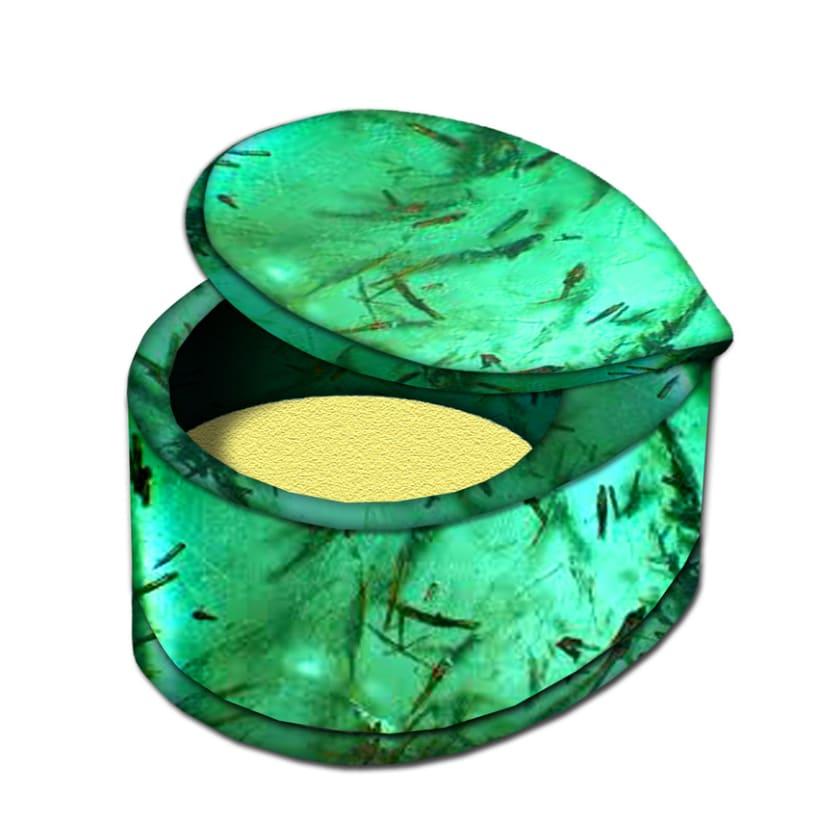 Packaging: Caja de perfume sólido con espejo 2